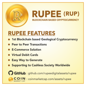 Rupee RUP features